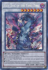 YuGiOh! TCG karta: Yazi, Evil of the Yang Zing