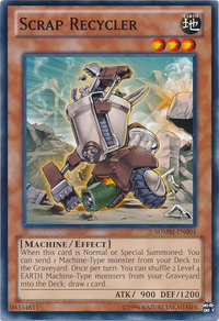 YuGiOh! TCG karta: Scrap Recycler