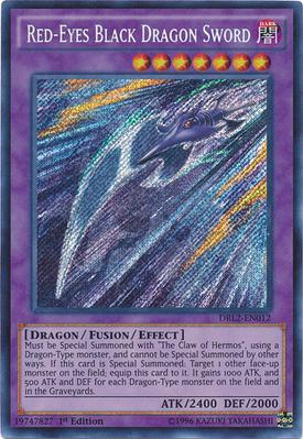 RedEyes Black Dragon Sword DRL2