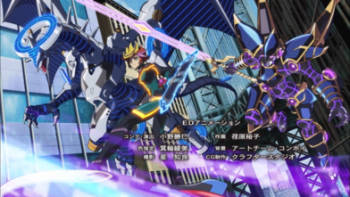 File:Yusaku and his monsters.png