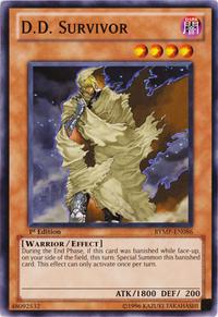 YuGiOh! TCG karta: D.D. Survivor