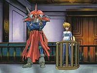 Joey and Flame Swordsman