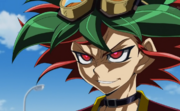 Yuya Berserk Mode smile
