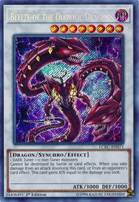 YuGiOh! TCG karta: Beelze of the Diabolic Dragons