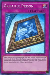 YuGiOh! TCG karta: Grisaille Prison