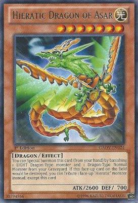 Hieratic Dragon of Asar GAOV
