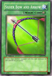 YuGiOh! TCG karta: Silver Bow and Arrow