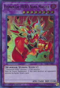 YuGiOh! TCG karta: Elemental HERO Nova Master