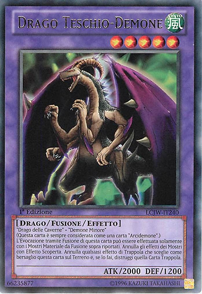 Yu-Gi-Oh! Dragon Crâne Démon TP6-FR013