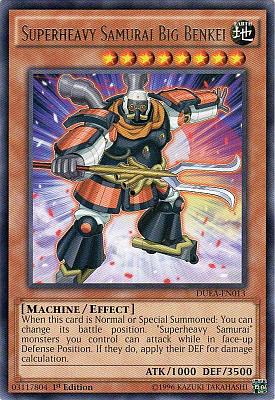 Superheavy Samurai Big Benkei DUEA