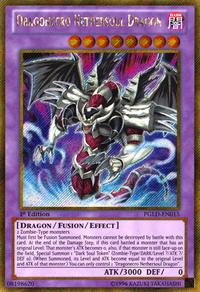 YuGiOh! TCG karta: Dragonecro Nethersoul Dragon