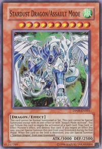YuGiOh! TCG karta: Stardust Dragon/Assault Mode