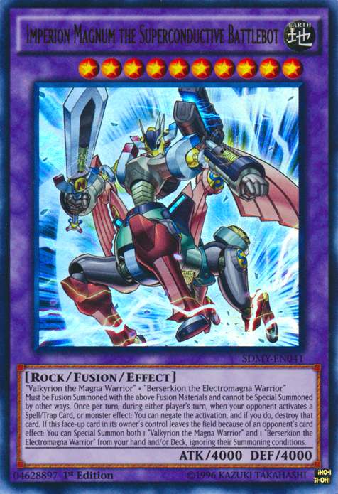Imperion Magnum the Superconductive Battlebot | Yu-Gi-Oh! | FANDOM