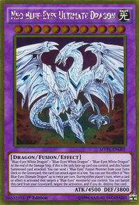 YuGiOh! TCG karta: Neo Blue-Eyes Ultimate Dragon