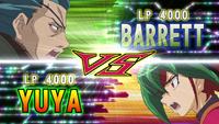 Yuya Sakaki vs. Barrett