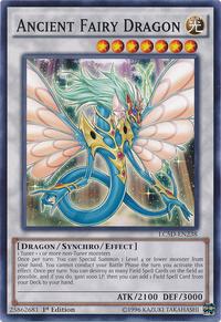 YuGiOh! TCG karta: Ancient Fairy Dragon