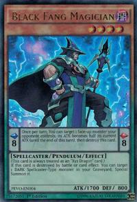 YuGiOh! TCG karta: Black Fang Magician
