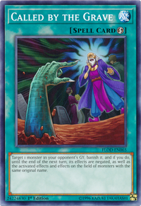 YuGiOh! TCG karta: Called by the Grave