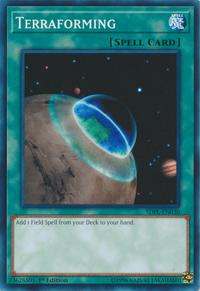 YuGiOh! TCG karta: Terraforming