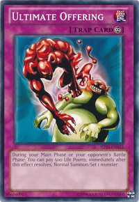 YuGiOh! TCG karta: Ultimate Offering