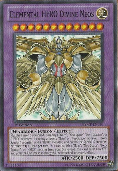 elemental hero divine neos  yugioh wiki  fandom