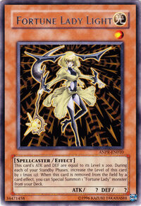 YuGiOh! TCG karta: Fortune Lady Light