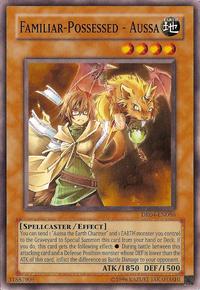 YuGiOh! TCG karta: Familiar-Possessed - Aussa