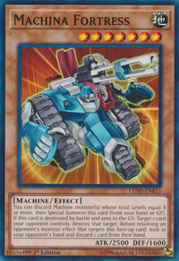 YuGiOh! TCG karta: Machina Fortress