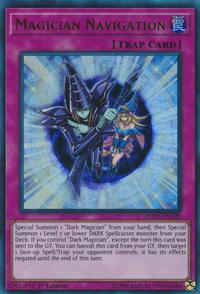 YuGiOh! TCG karta: Magician Navigation