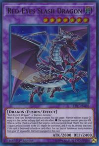 YuGiOh! TCG karta: Red-Eyes Slash Dragon