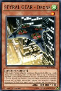YuGiOh! TCG karta: SPYRAL GEAR - Drone