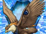 Bestia Cristallo Aquila Cobalto