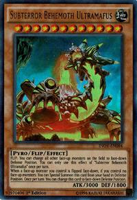 YuGiOh! TCG karta: Subterror Behemoth Ultramafus