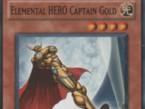 Elemental HERO Captain Gold