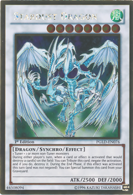 Stardust Dragon PGLD