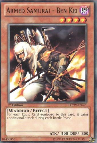 Armed Samurai - Ben Kei | Yu-Gi-Oh! Wiki | Fandom