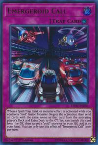 YuGiOh! TCG karta: Emergeroid Call