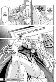 Eve holds GOD card