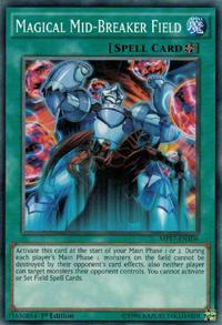 YuGiOh! TCG karta: Magical Mid-Breaker Field