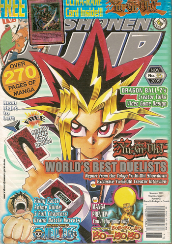 <i>Shonen Jump</i> Vol. 3, Issue 11