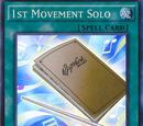 1st Movement Solo