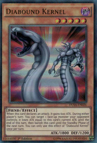 YuGiOh! TCG karta: Diabound Kernel