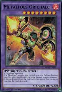 YuGiOh! TCG karta: Metalfoes Orichalc