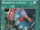 Limiter Removal