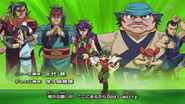 Members of Ryozanpaku OP