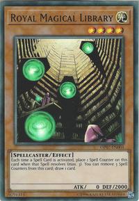 YuGiOh! TCG karta: Royal Magical Library