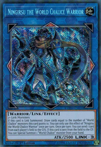 YuGiOh! TCG karta: Ningirsu the World Chalice Warrior