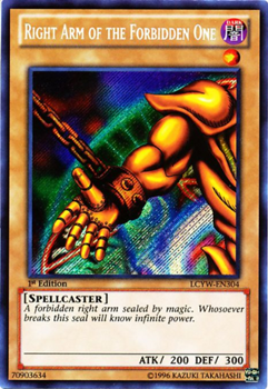 Right Arm of the Forbidden One LCYW