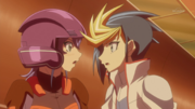 Yugo Asks Celina if She Really Isn't Rin