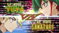 Yuya VS Sawatari